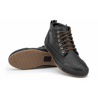 Chrome Industries Storm 415 Workboot Black Leather/Black