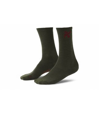 Chrome Industries Crew Socks Olive