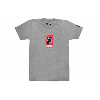 Chrome Industries Lock Up Tshirt Heather Grey