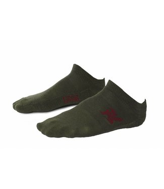 Chrome Industries No Show Socks Olive Leaf