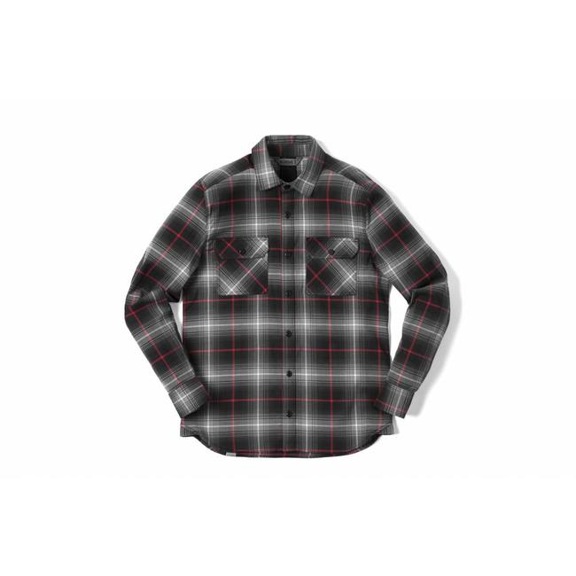 Chrome Industries LS Stretch Woven Workshirt Black Plaid