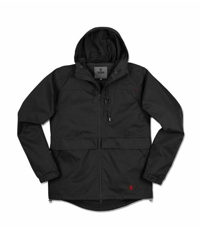 Chrome Industries Skyline Windcheater Jacket Black