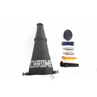 Chrome Industries Knurled Seat Bag Gravel Black