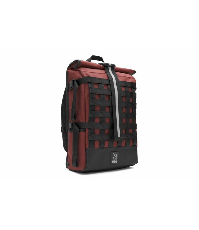 Chrome Industries Barrage Cargo All Black Courier Backpack Laptop Bicycle Bag