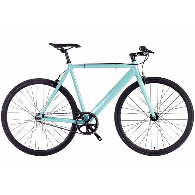 6KU Track Fixie & Single Speed Bike - Celeste