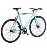 6KU Track Fixie & Single Speed Bike - Celeste