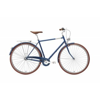 Creme Cycles Mike - Navy Blue - 3 Speed
