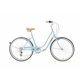Creme Cycles Molly Uno - Light Blue - 7 Speed