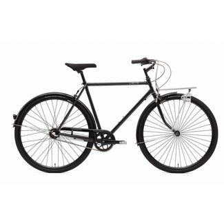 Creme Cycles Caferacer Man Solo - Black - 3 Speed