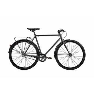 Creme Cycles Tempo Solo - Black - 3 Speed Medium