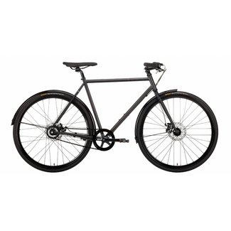 Creme Cycles Tempo Doppio - Black - 8 Speed