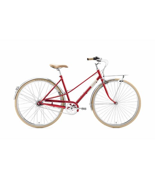 Creme Cycles Caferacer - Lady Solo Red - 7speed
