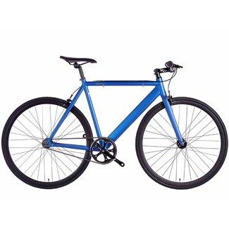 6KU Track Fixie & Single Speed Bike - Navy