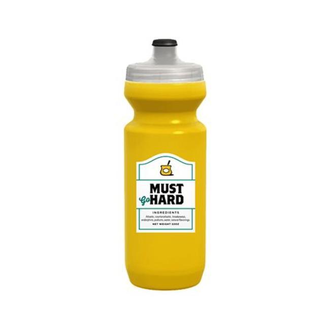 SpurCycle Must Go Hard Water Bottle