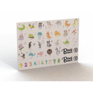Bungi Bungi Bungi Bungi Sticker Pack - Animal Alphabet