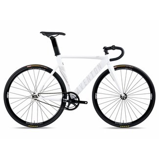Aventon Mataro Fixie & Single speed Bike - White