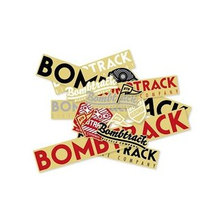 Bombtrack Promo Sticker Pack - 15 Assorted Stickers