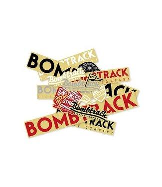Bombtrack Promo Sticker Pack - 15 Assorted Stickers