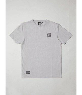 BLB Small Badge T-Shirt - Grey
