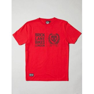BLB Twin Logo T-Shirt - Red