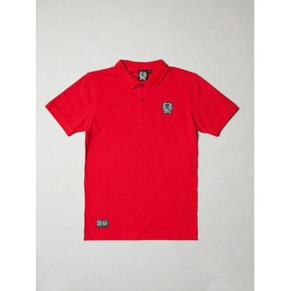 BLB Small Badge Polo Shirt - Red