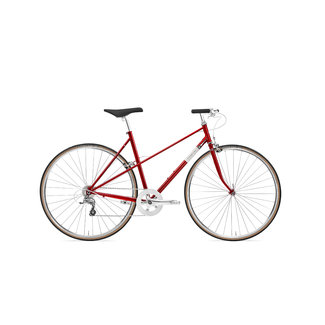Creme Cycles Echo Mixte Uno Deep Red