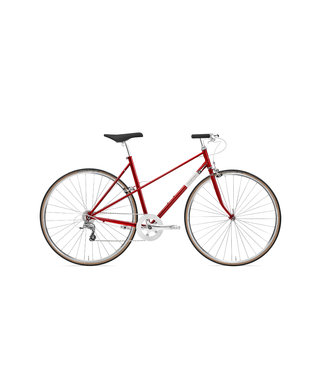 Creme Cycles Echo Mixte Uno Deep Red