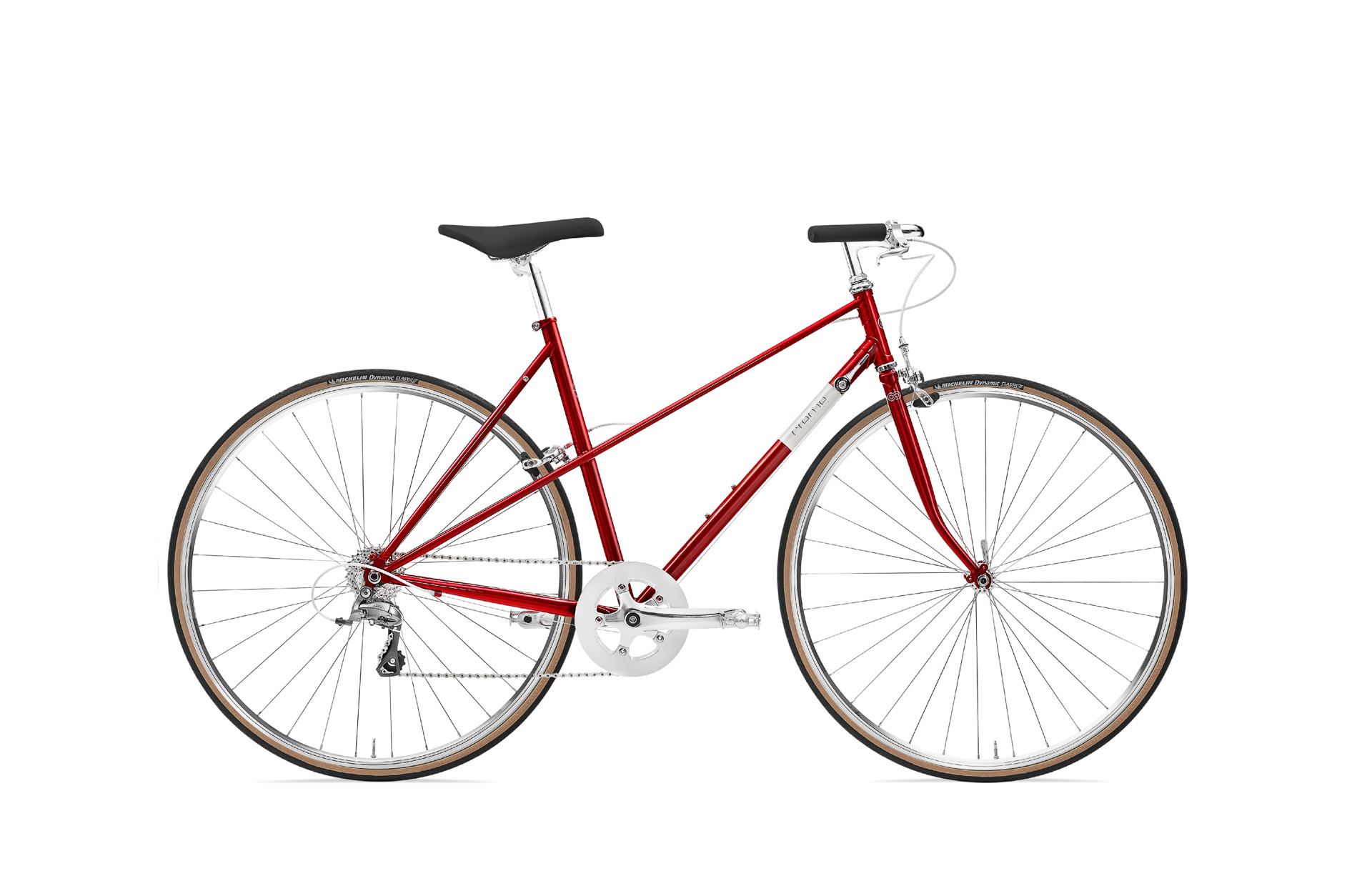 """BICYCLE FORK 700C THREADED 1/"""" RED ROAD TRACK FIXIE MTB HYBRID CYCLING BIKES"""