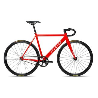 Aventon Cordoba Fixie & Single Speed Bike - Molten Orange