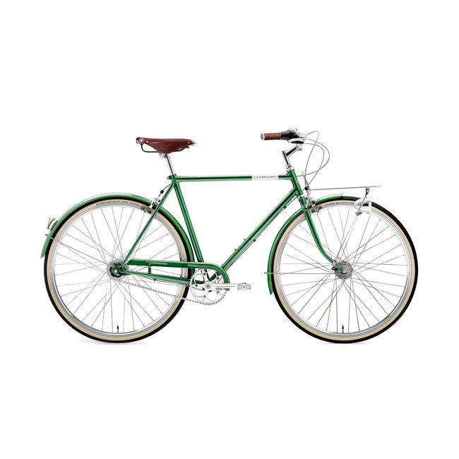 Creme Cycles Caferacer Man Uno Classic Doppio Forest Green