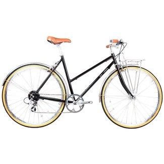 BLB Butterfly 8spd Town Bike - Black