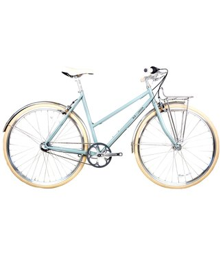 BLB Butterfly 3spd Town Bike - Sage Green