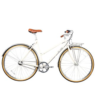 BLB Butterfly 3spd Town Bike - Natural Beige