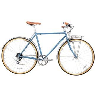 BLB Beetle 8spd Town Bike - Moss Blue