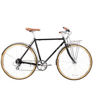 BLB Beetle 8spd Town Bike - Black