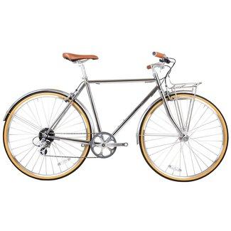 Beetle 8spd Town Bike Chrome