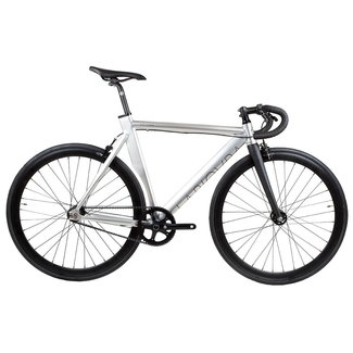 BLB La Piovra ATK Fixie & Single Speed Bike - Polished Silver