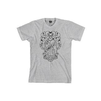 Cinelli Crest Grey T-Shirt