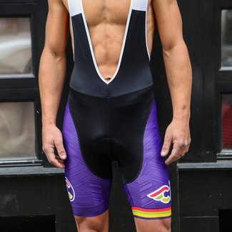 Italo '79 Aero Purple Haze Bib Shorts