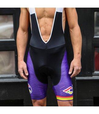 Italo '79 Aero Purple Haze Bib Shorts