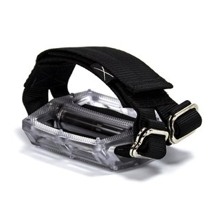 Horizontal Pedal Straps - Black