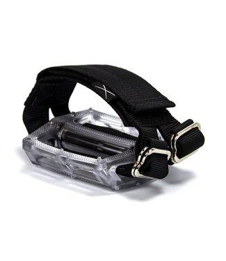 Restrap Horizontal Pedal Straps - Black