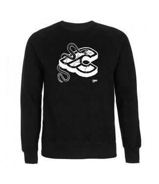 Cinelli Mike Giant Black Crew Sweatshirt Black