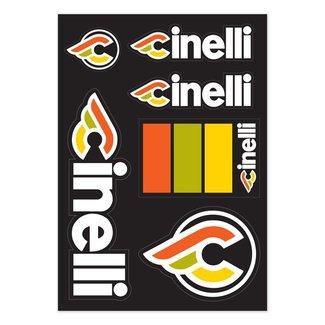 Cinelli Italo '79 Sticker Pack Black