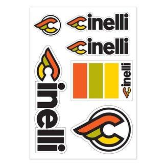 Cinelli Italo '79 Sticker Pack White