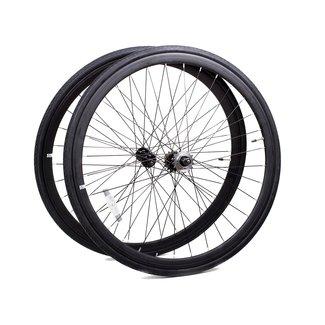 6KU Wheelset 700C Black