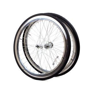 6KU Wheelset 700C Silver