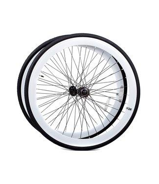 6KU Wheelset 700C White