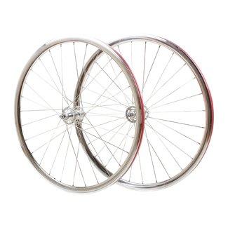 Wheelset 700C Polished Silver
