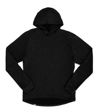 Chrome Industries Merino Wool LS Hoodie Men's Black